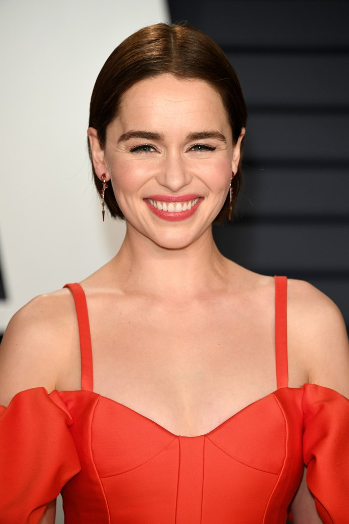 At the 2019 Vanity Fair Oscar party. *(Image: Getty)*