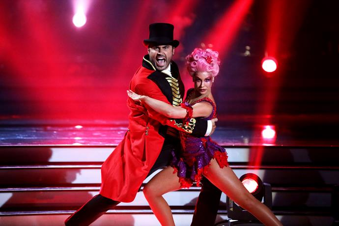 Miguel and his DWTS partner Megan Wragg.
