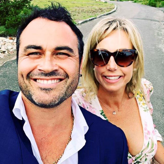 Miguel and his wife Sacha.