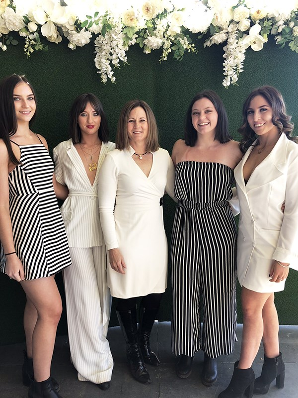 Mum-of-four Natalie says her daughters are her biggest supporters. *(Image: Supplied)*