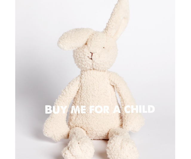 Donating a gift to disadvantaged kids sends a special kind of Easter message. *Image: The Change Angels.*
