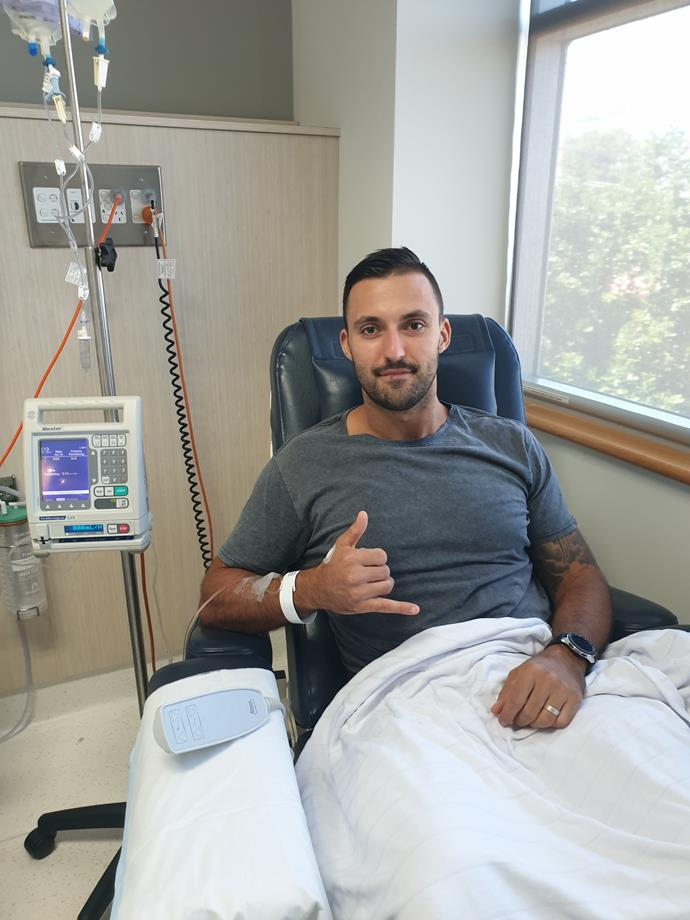 *MAFS* participant Nic reveals his cancer returned a second time (Image: Supplied).