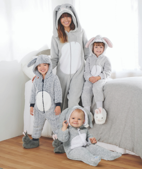 Gifting winter jammies is a wonderful chocolate-free tradition to begin with your family. *Image: Best & Less.*