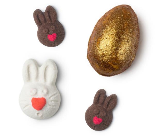 Easter smells real good at Lush! *Image: Lush.*