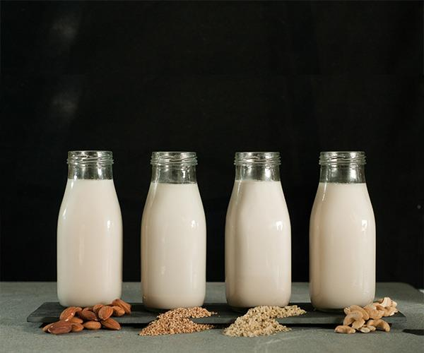 There are a variety of milks out there ranging from almond to soy. *(Image: Getty Images)*