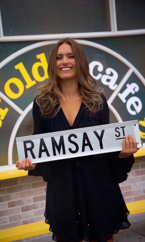 Christie has a new home on Ramsay Street.