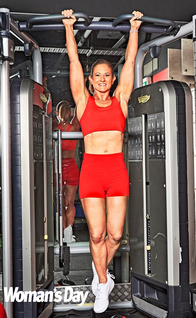 A svelte Natalie hits the gym every day. *(Image: Supplied)*