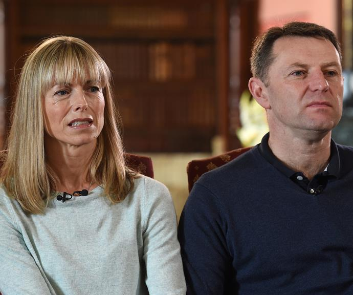 Kate and Gerry McCann were labelled as guilty very early on. *(Image: Getty)*