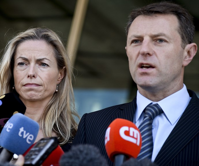 A bungled DNA sample implicated the McCanns as suspects. *(Image: Getty)*