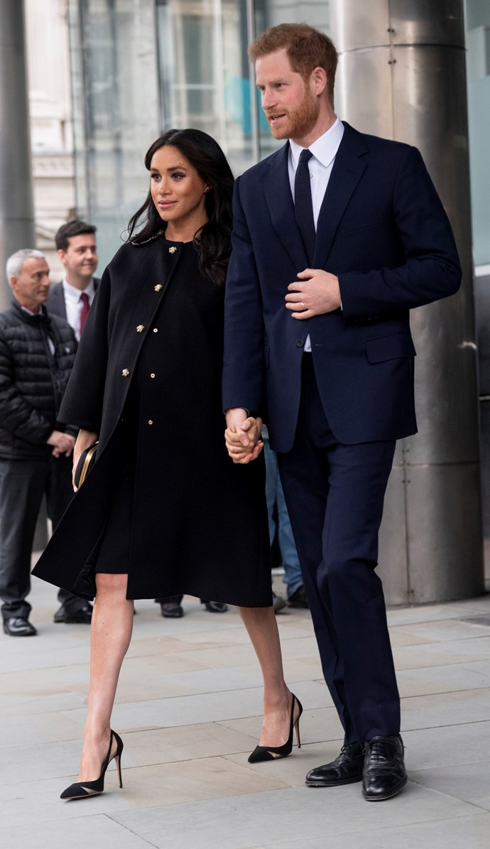 Meghan and Harry are about to expect their first child together. *(Image: Getty)*