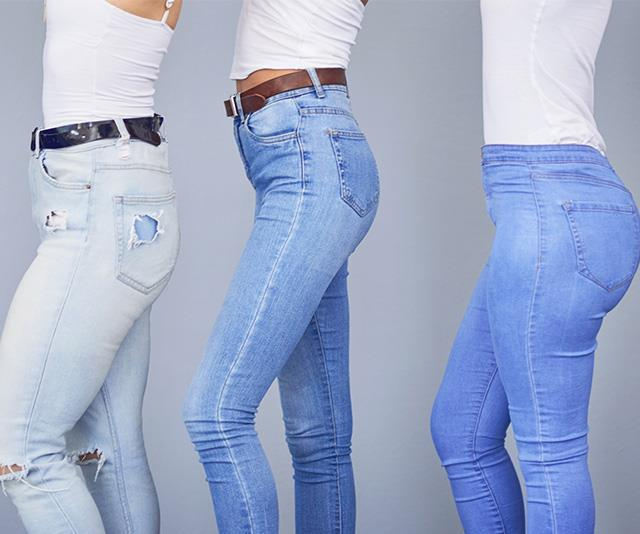 Hi-rise, low-rise, skinny and straight... there's a whole world of denim to explore. *(Image: Getty)*