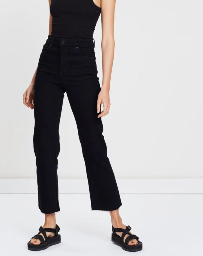 """Abrand Cropped Bootleg Jeans, $119 (via The Iconic). Available [here](https://www.theiconic.com.au/a-cropped-boot-jeans-811280.html target=""""_blank"""" rel=""""nofollow"""")."""