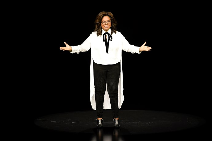 Oprah will have a series on Apple TV+