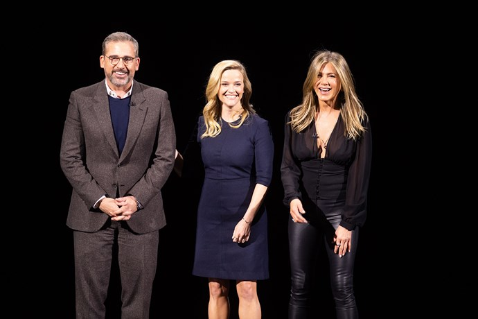 Steve Carrell, Reese Witherspoon and Jennifer Aniston join forces for AppleTV+