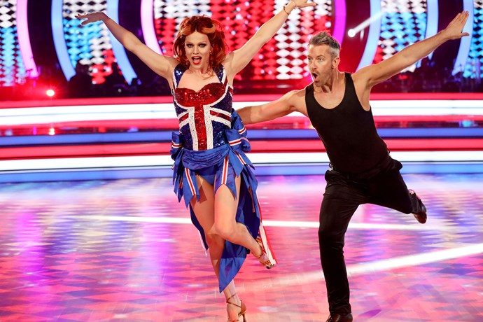 Though Courtney is favoured to win, all the celebrities are having the time of their lives.