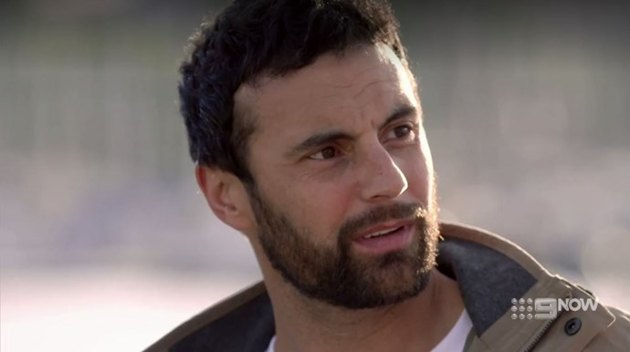 *Married at First Sight*'s Cam Merchant hasn't had a smooth ride to happiness. *(Image: Nine)*