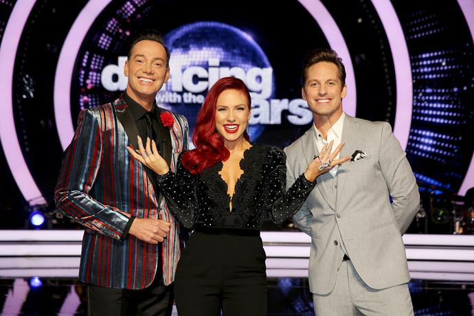 Judges Sharna Burgess, Tristan MacManus and Craig Revel Horwood will all be taking a turn on the dance floor.