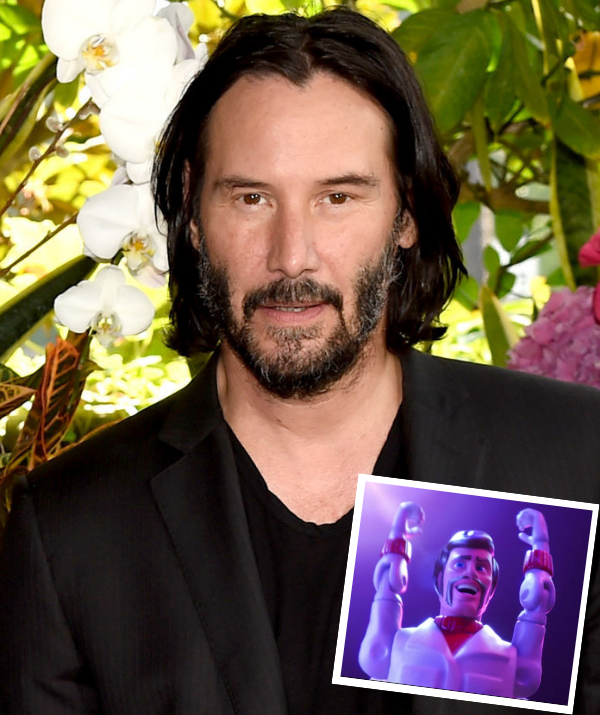 Keanu Reeves joins the cast to voice Canada's greatest stuntman toy, Duke Caboom.*Image: Getty/Pixar*