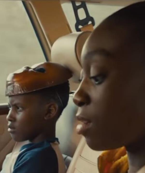 Shahadi Wright-Joseph and Evan Alex also appear in the new flick. *(Image: Universal Pictures)*