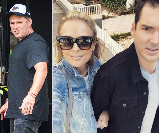 Following Ubergate and Karl's highly-publicised split and second marriage, the brothers' relationship has beeen rocky. *(Images: Media Mode/Instagram @sylviajeffreys)*