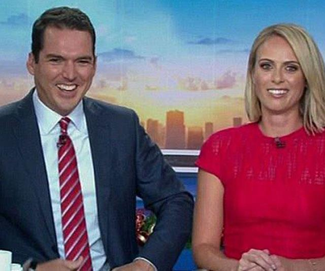 Sylvia (pictured with husband Peter) is contracted to Nine until 2022. *(Image: Nine Network)*