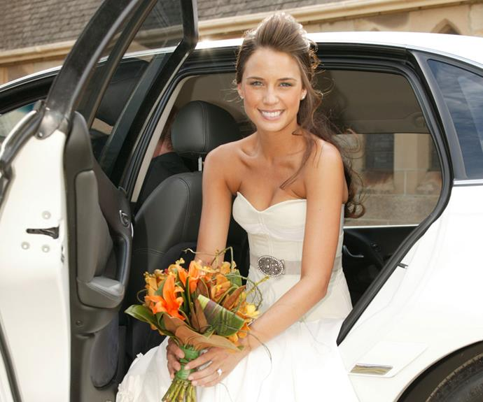 **Jodi Anasta - Home & Away** <br><br> Speaking of Martha, Jodi starred as the Summer Bay resident and beloved grandaughters of Alf (Ray Meagher) for five years. In 2010, Martha left the bay with Hugo.