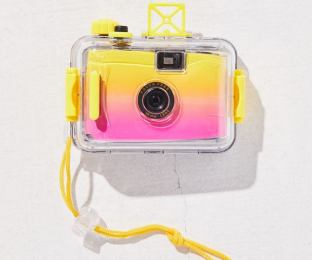 Go retro with this Sunnylife Underwater 35mm Camera. *Image: Urban Outfitters.*