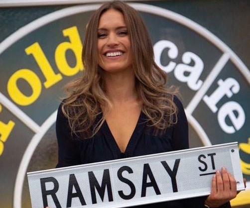 """**Christie Hayes - Neighbours** <br><br> [Earlier this week,](https://www.nowtolove.com.au/celebrity/tv/christie-hayes-neighbours-54793