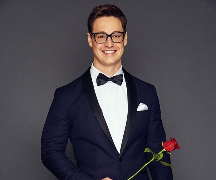 The newest *Bachelor*, Matt Agnew! *(Source: Network Ten)*