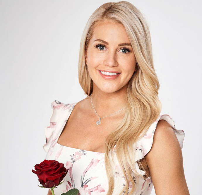 Ali Oetjen was last year's controversial *Bachelorette*. *(Source: Network Ten)*