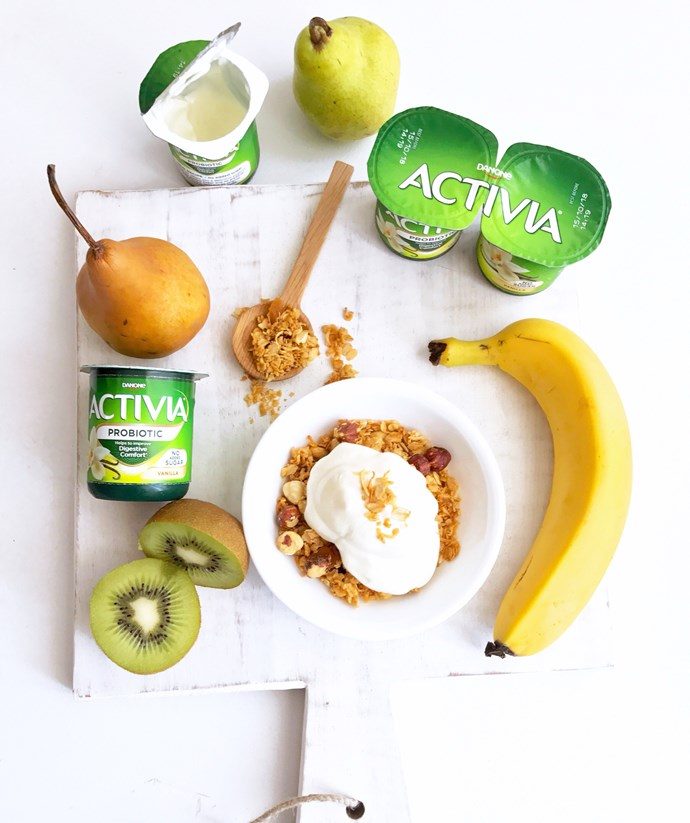 """Alongside a balanced diet and healthy lifestyle, consuming two pots of [Activia 125g yoghurt](http://www.activia.com.au/
