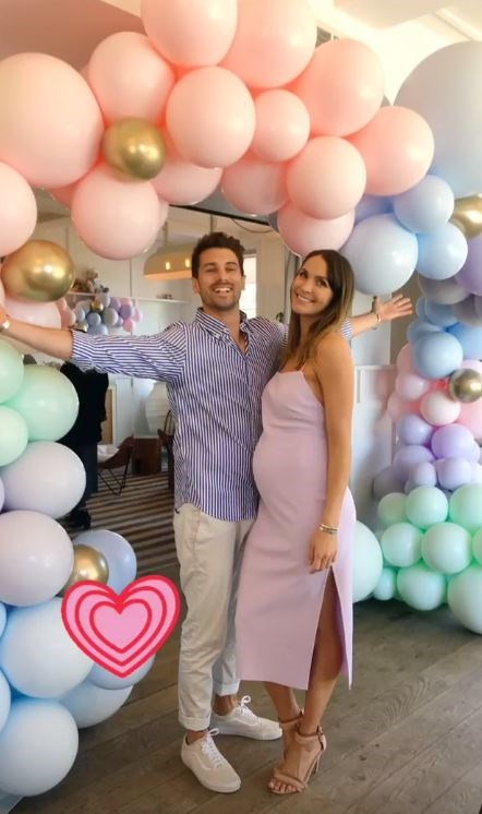 The parents-to-be are in high anticipation for their new arrival! *(Image: Instagram)*