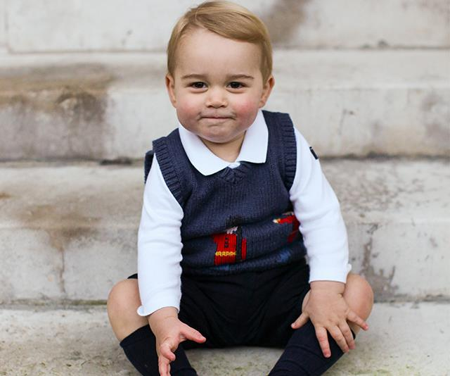 Prince George has approved this adorable look. *(Image: Getty)*