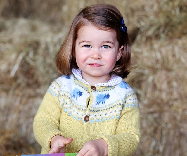 Princess Charlotte became an influencer in her own right after wearing an adorable John Lewis cardigan. *(Image: Getty)*