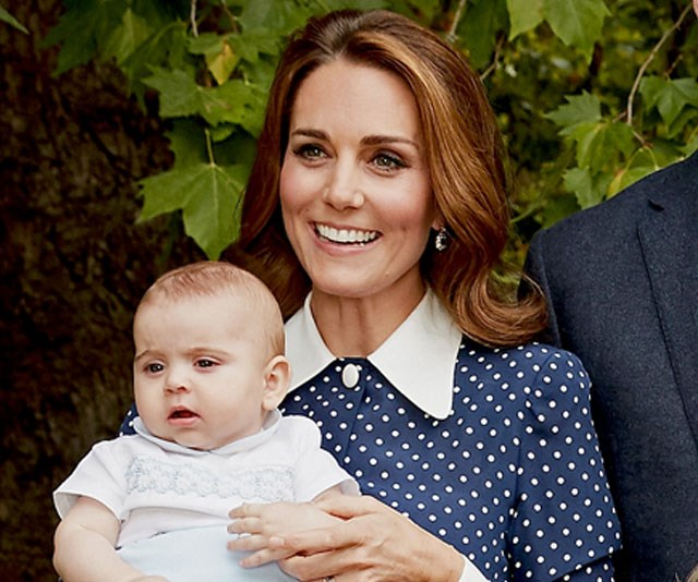 Too cute! Prince Louis looked like perfection in his adorable white shirt. *(Image: Chris Jackson / Getty)*