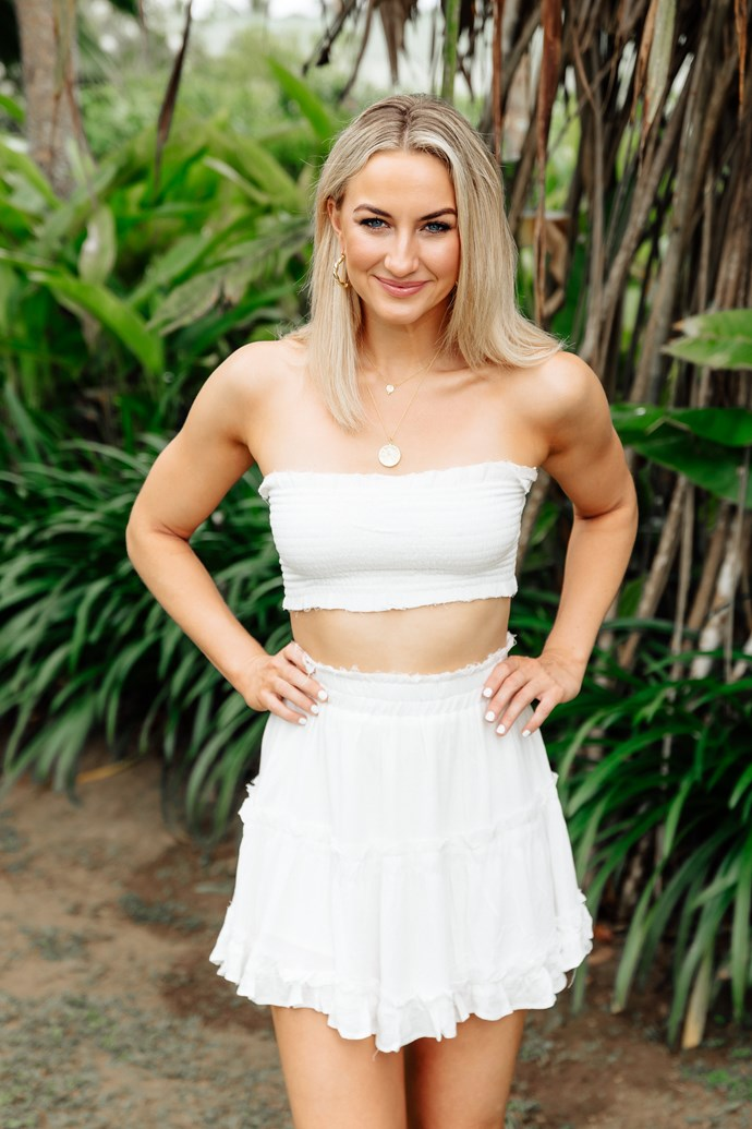 """**Alisha Aitken-Radburn, 26, ACT** <br><br> **Season:** Nick Cummins, 2018 <br><br> **Best known for:** Being in the trio of """"mean girls"""" with Romy Poulier and Cat Henesy and as one of Bill Shorten's staffers. <br><br> **Instagram:** @alisha.aitkenradburn"""