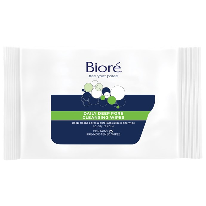 """Meghan's favourite makeup wipes are only $7 from [Priceline](https://www.priceline.com.au/biore-daily-deep-pore-cleansing-wipes-25-pack