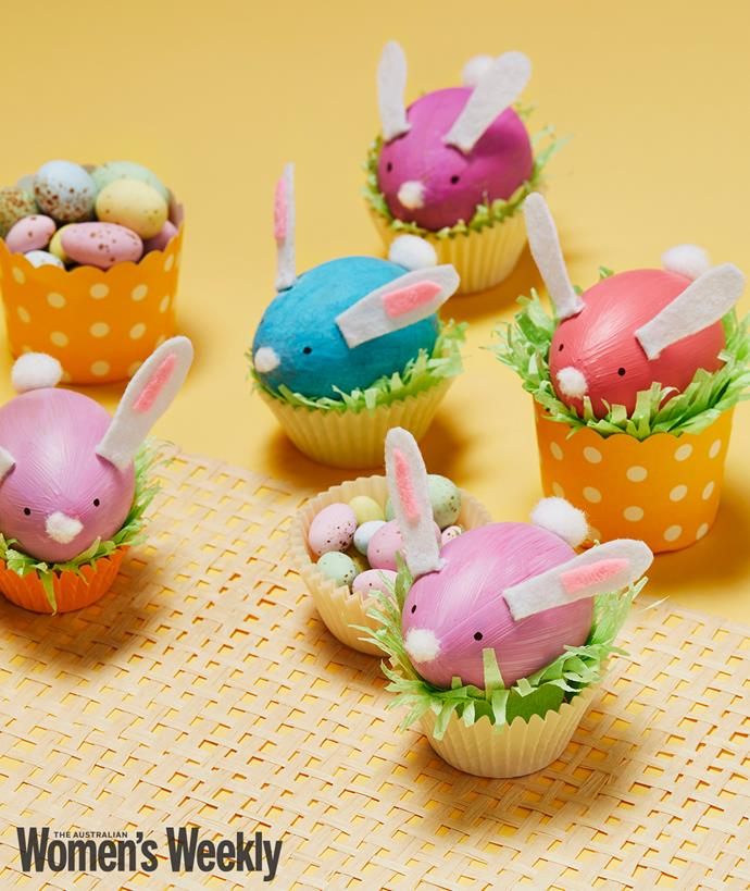 Pulling a cute Easter rabbit out of your hat couldn't be easier.