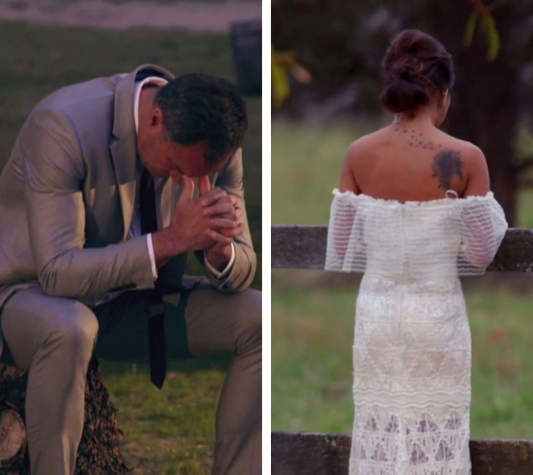 Both Ning and Mark were heartbroken. *(Source: Channel 9)*