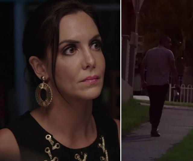 "Victor left the Instant Restaurant while Piper was left to ""fend for herself."" *(Images: Channel Seven)*"