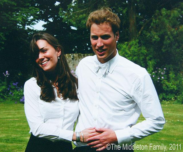 Duchess Catherine and Prince William, pictured on their graduation day in Scotland 2005, have been married since 2011. *(Image: Handout image via Middleton Family/Clarence House via Getty Images)*