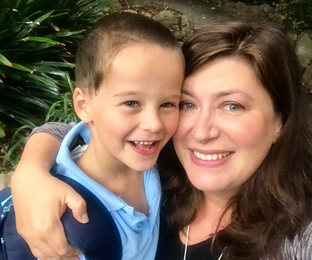 Louise knew that Lachlan was different at around 18 months but he was always a loving, happy child. *(Image: Supplied)*