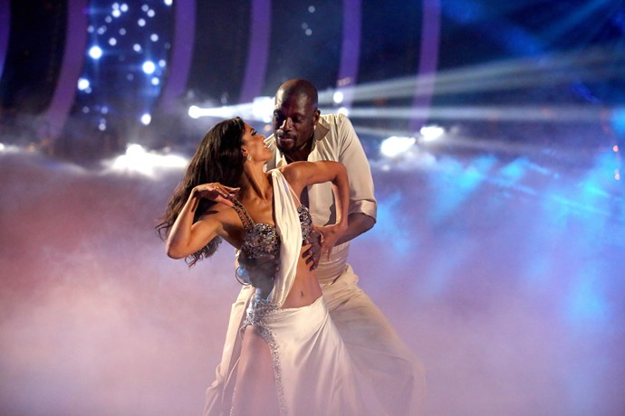 Curtly reveals his waltz was the hardest dance to master (Image: Network 10).