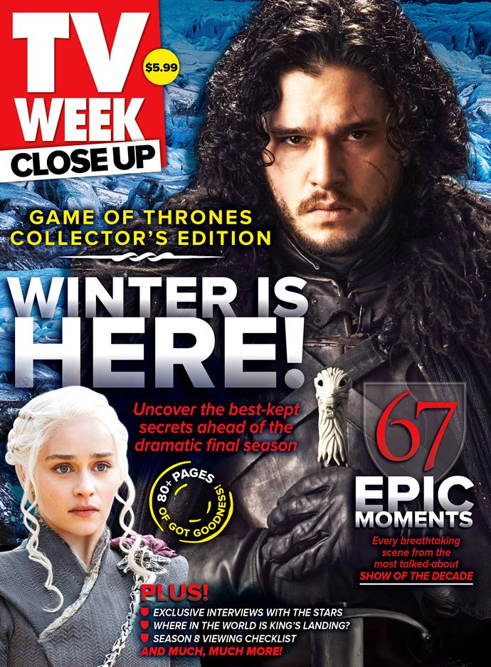 The new issue of TV WEEK Close Up is on sale Thursday, April 4.