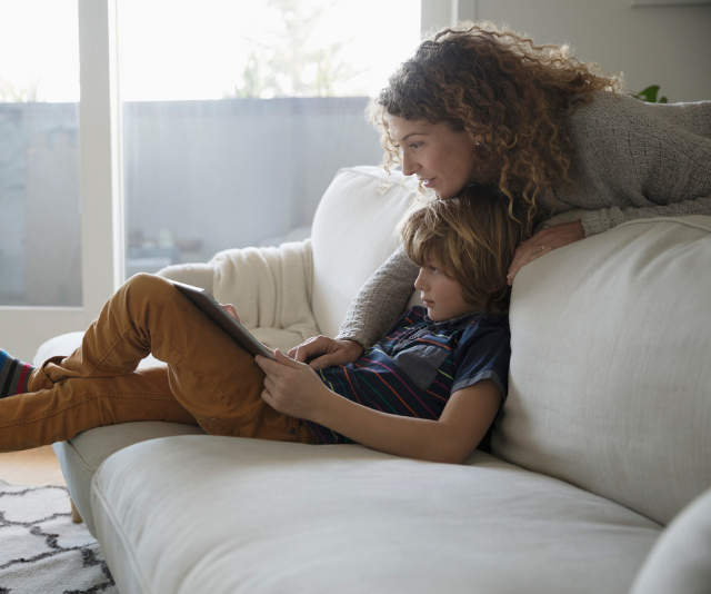 The reality is, technology isn't going away, and parents need to stay informed on the latest online risks in order to spot the warning signs. *Image: Getty.*