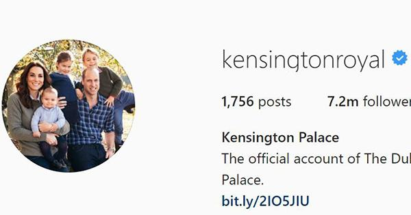 Surprise! The Cambridge kids are officially on the Kensington Palace Instagram account! *(Image: Instagram / @kensingtonroyal)*
