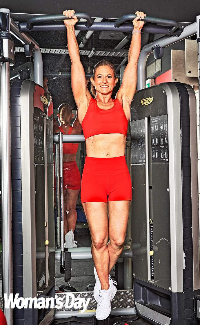 Natalie has impressed everyone with her dedicated fitness routine. *(Image: Supplied)*