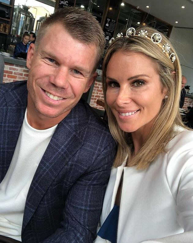 Candice Warner has shared a gushing tribute to her husband David. *(Image: Instagram)*