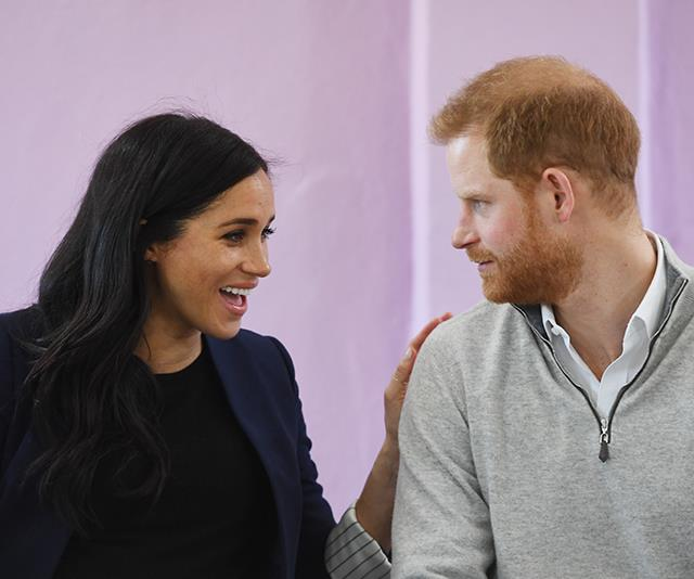 Meghan and Harry have a brand new home! *(Image: Getty)*