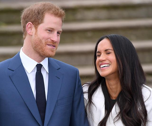 A rare new photo from Meghan and Harry's pre-wedding days has been revealed. *(Image: Getty)*